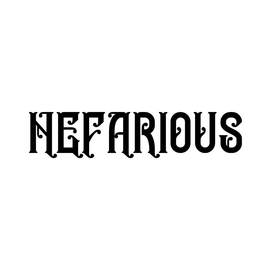 Nefarious Whiskeys logo