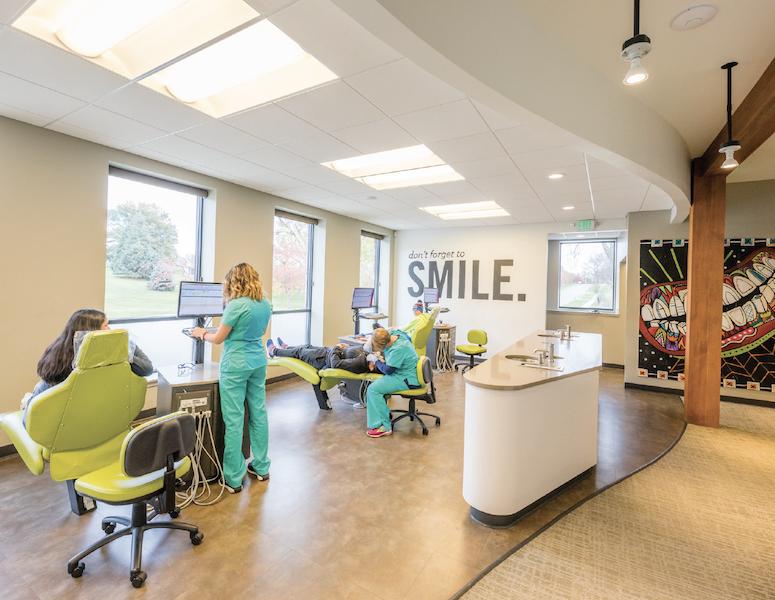 Interior of Hermanson Orthodontics in Marshalltown, Iowa