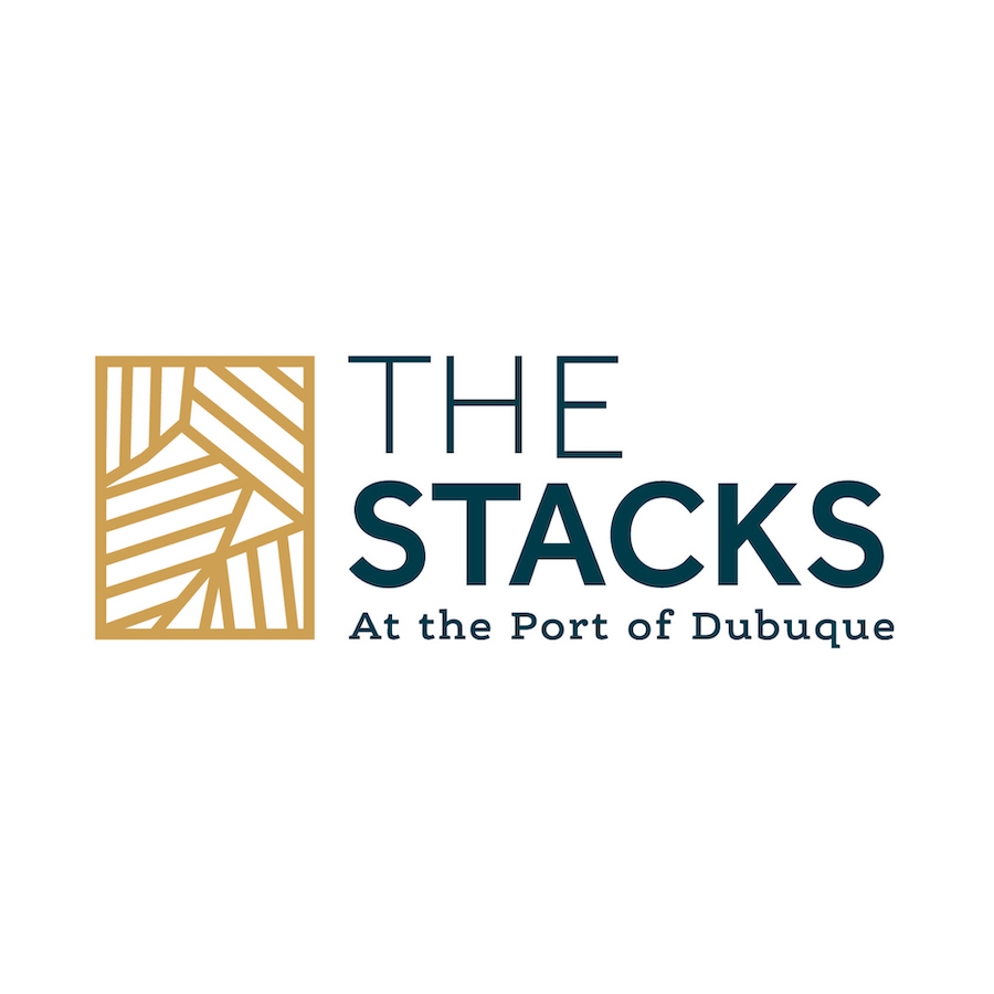 The Stacks at the Port of Dubuque logo