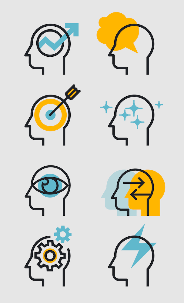 Speak Up Stories icons